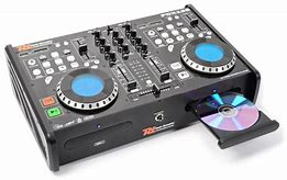 DJ-Set / Doppel CD-Player mit Mischpult PDX125 USB / SD / MP3 Image