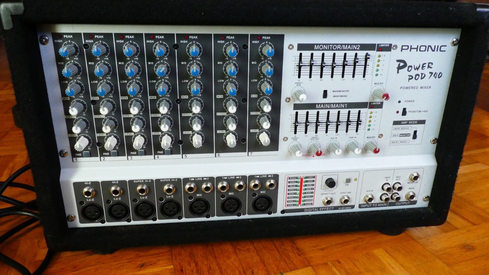 Phonic Powermixer 740 Plus Image